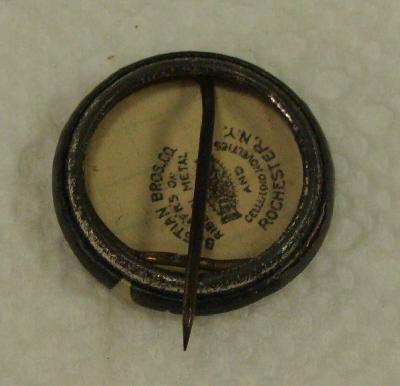 1910s President William Howard Taft 7 8 Pinback Button Pin Bastian
