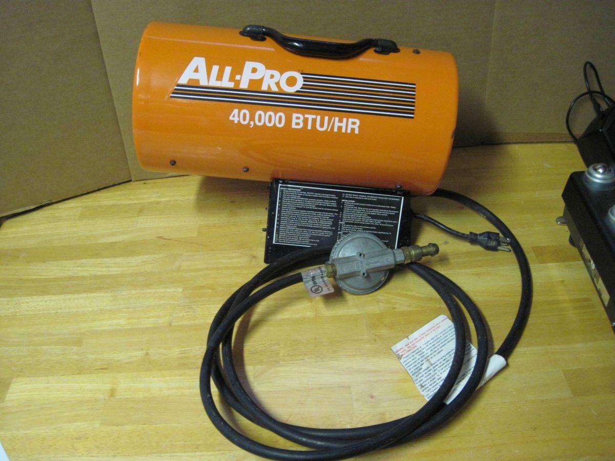 Protemp Portable Fan Forced Propane Heater 40000 BTU