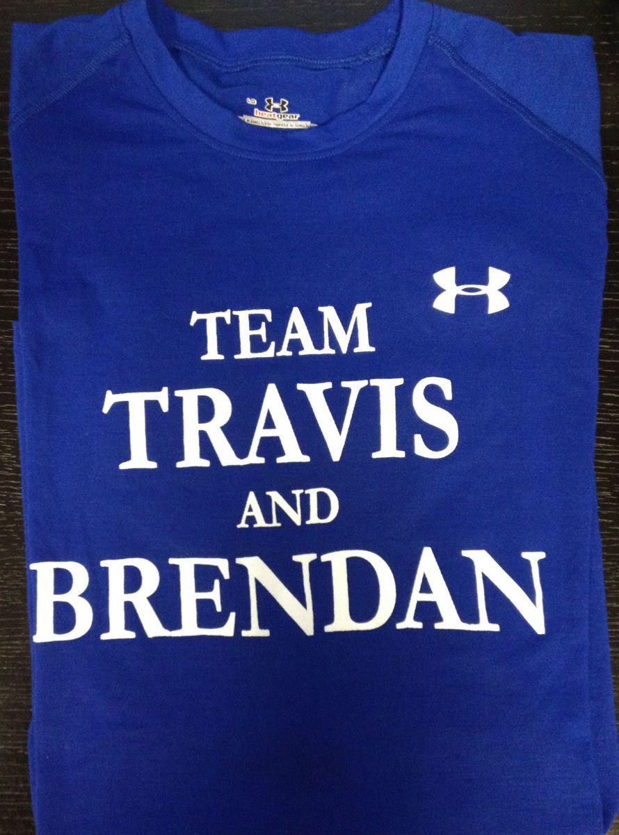 Mens Under Armour Team Travis Brendan T Shirt Travis Manion Foundation
