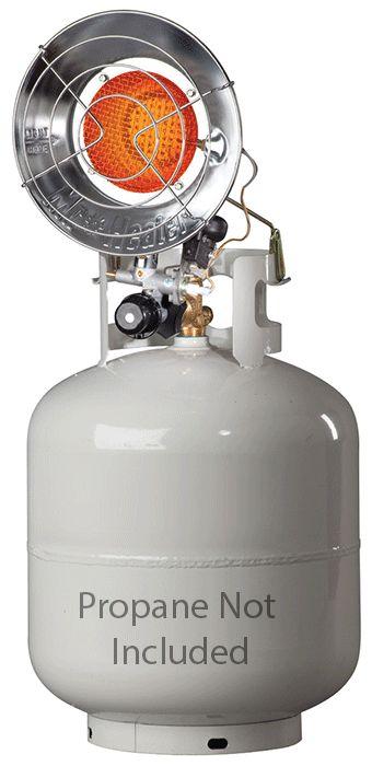 New Mr. Heater MH15T 15,000 BTU Single Burner Tank Top Propane Heater
