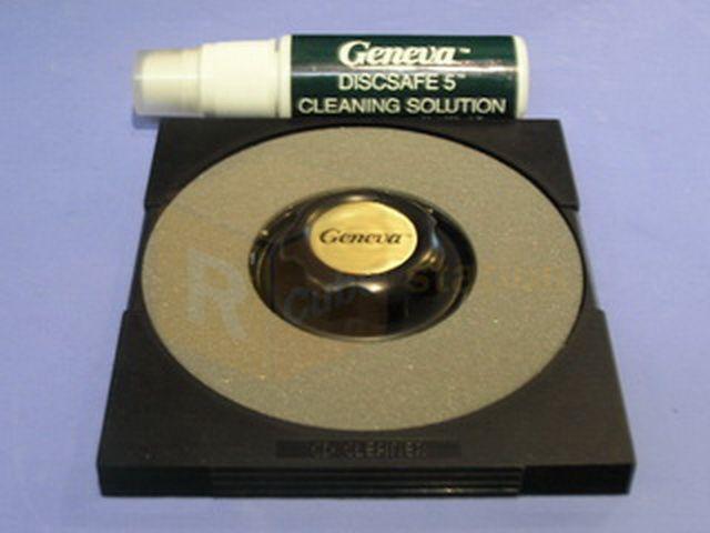 Geneva High End Disc CD DVD ROM RW R Disc Cleaner Repair Minor Scratch