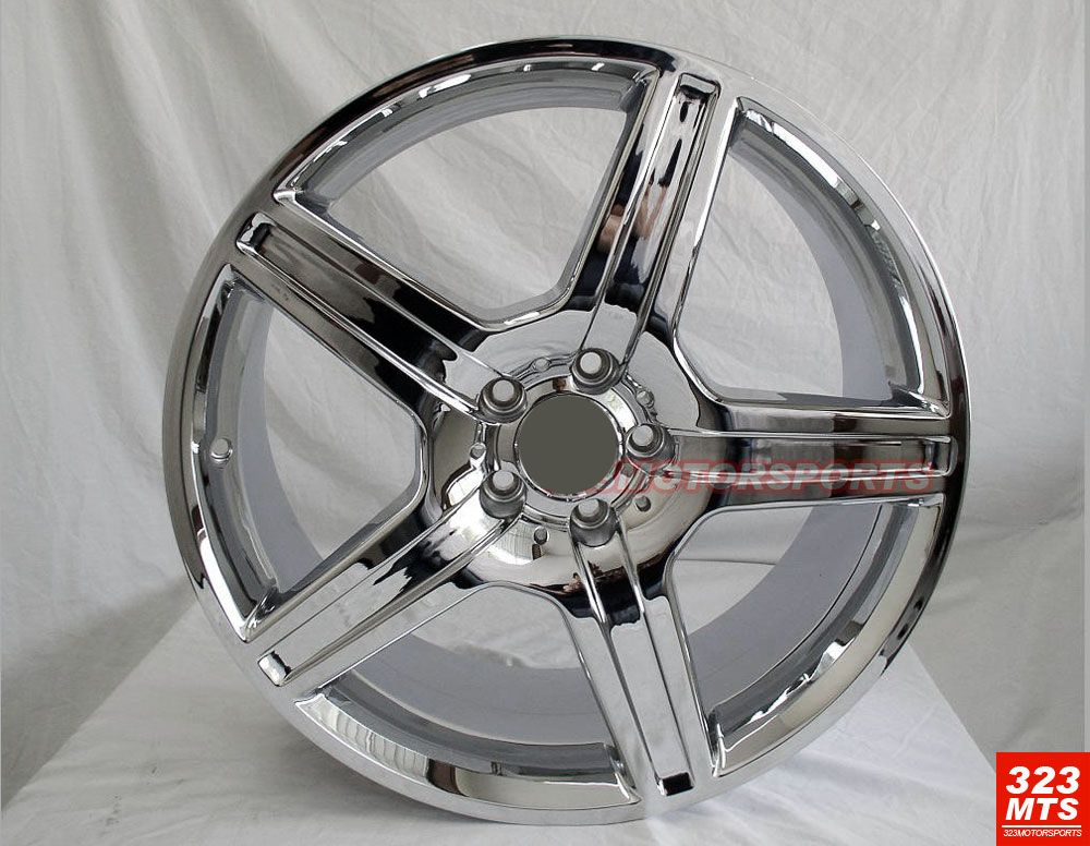 19 rims mercedes benz s c e wheels chrome rims 5 lug for Chrome rims for mercedes benz