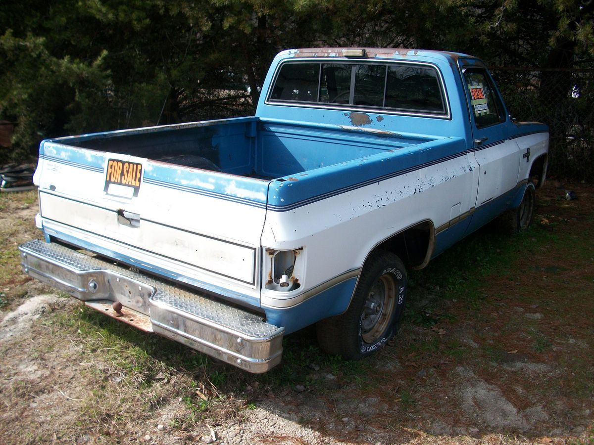 Chevy Truck 1986 Short Bed Excellent Parts Vehicle