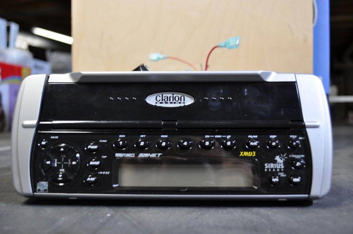 Clarion Xmd3 Marine Sirius Ready Radio Wiring Diagram