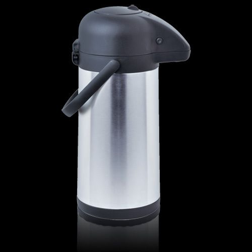 COFFEE TEA STAINLESS STEEL COMMERCIAL LINED AIRPOT PUSH BUTTON VACUUM