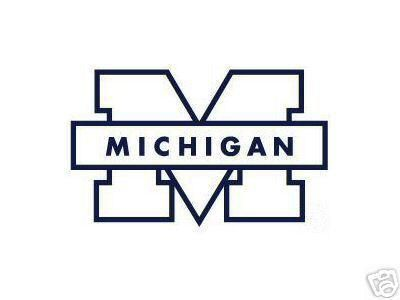 Michigan Wolverines Car Window Sticker Decal University