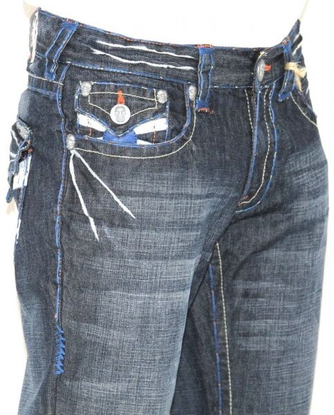 New Mens Laguna Beach Jeans Corona Del Mar Blue Stitch Boot Cut 42