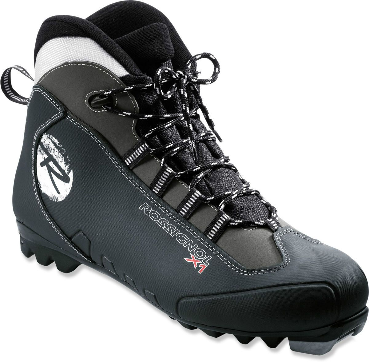 Rossignol x1 Black Padded Lined NNN Cross Country Ski Boots