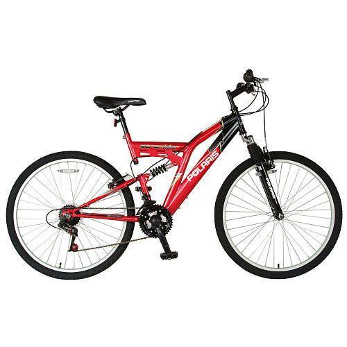 Cycle Force 26 inch Polaris Scrambler Bike   Boys   Red