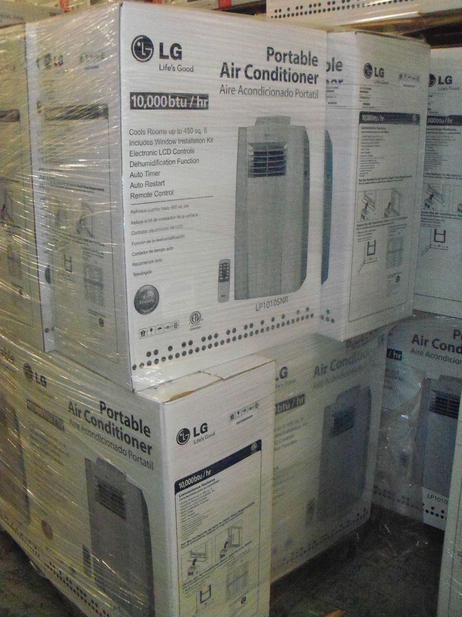 LG 10 000 BTU Portable Air Conditioner Dehumidifier w Remote