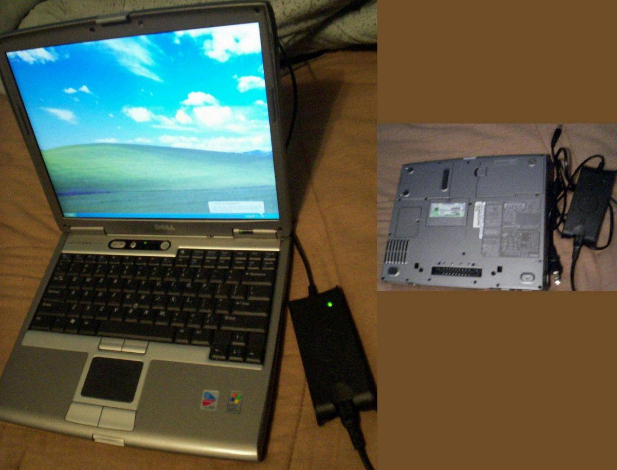 Dell Latitude D610 Notebook XP Professional 2 Ghz CPU 1 Gb RAM 80 Gb