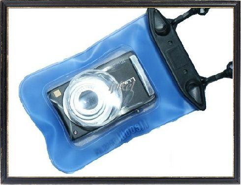20M Blue Digital Camera Case Dry Bag Waterproof Under Water for Nikon