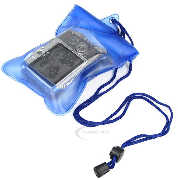 Digital Camera Underwater Waterproof Case Dry Bag Scuba Swimming Beach