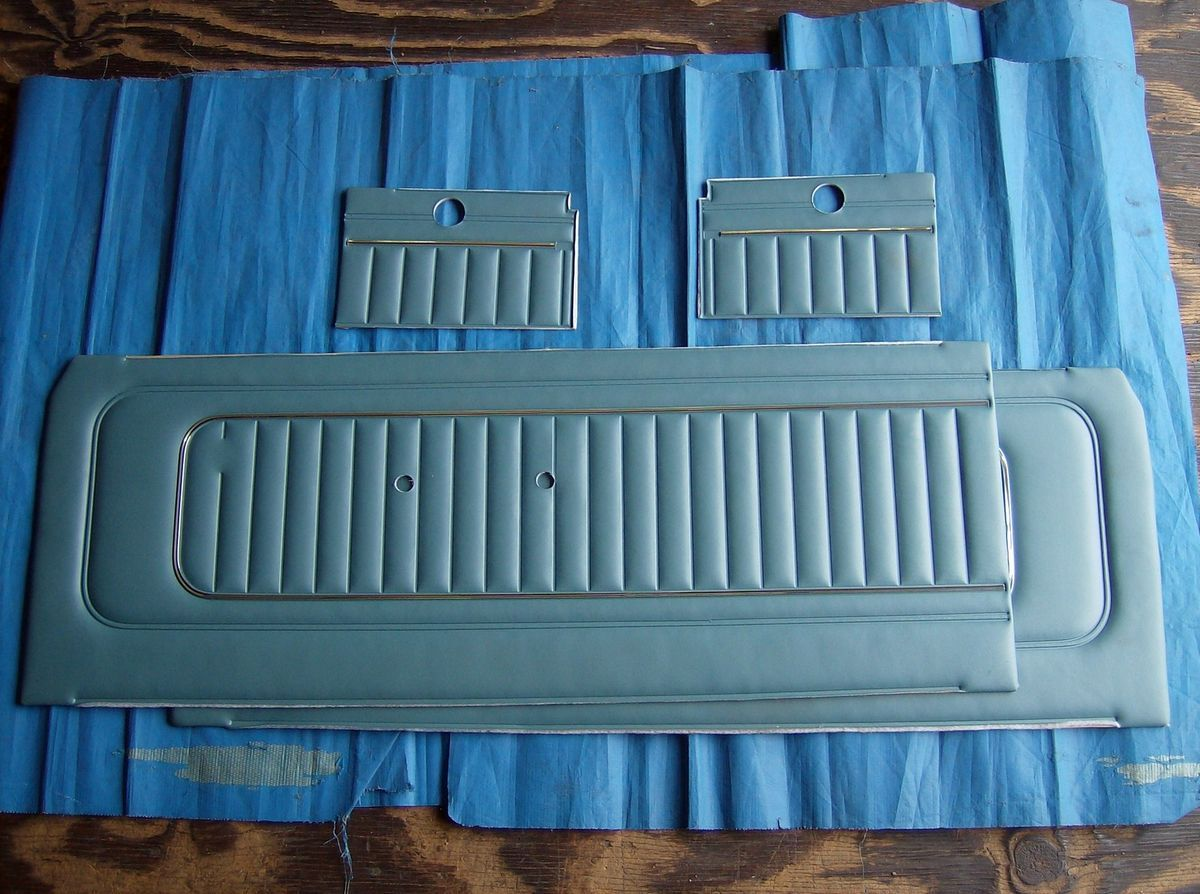 1965 Ford Falcon Door Trim Panel Pair with Quarter Trim RH & LH NEW
