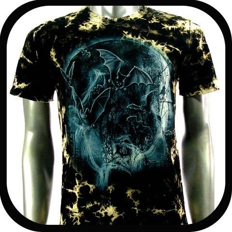 Rock Eagle T Shirt Biker Indie Tattoo RE107 Sz XL Punk Skull mma Rider