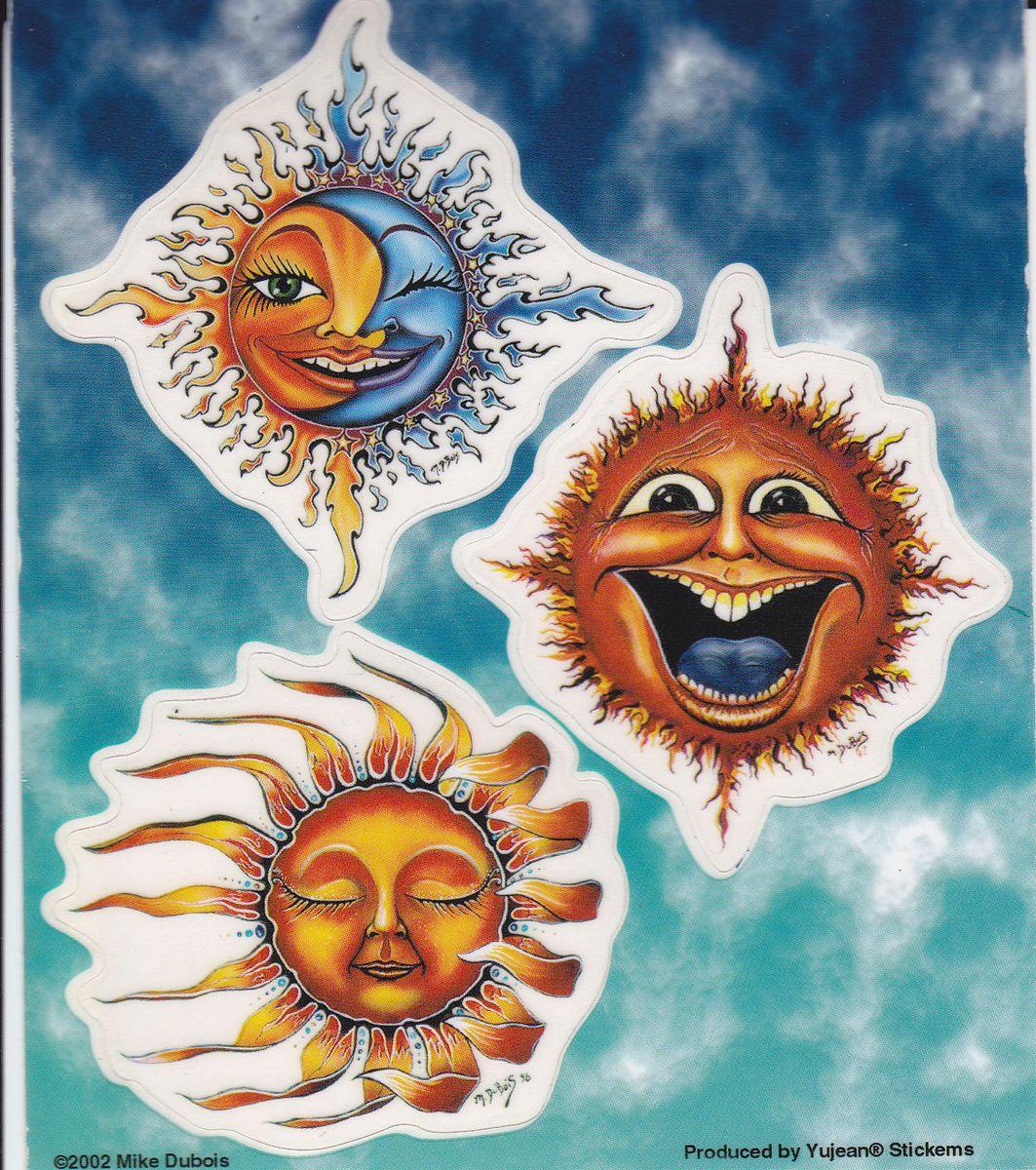 Dubois sun multipack vinyl car decal decals stickers sticker