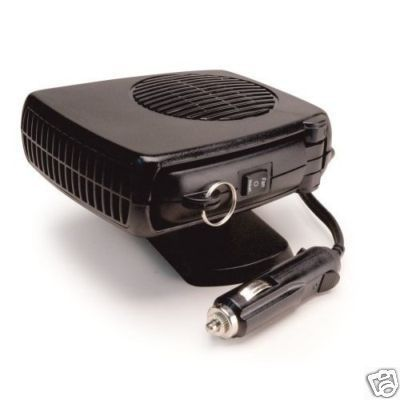 Portable Electric Heaters for Car 12V Heater & Fan *NEW