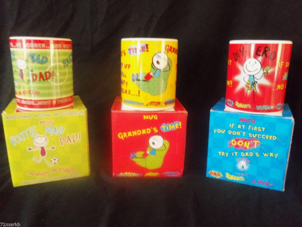 Mug in Box Gift for Birthday Fathers Day Xmas Daddy Joke