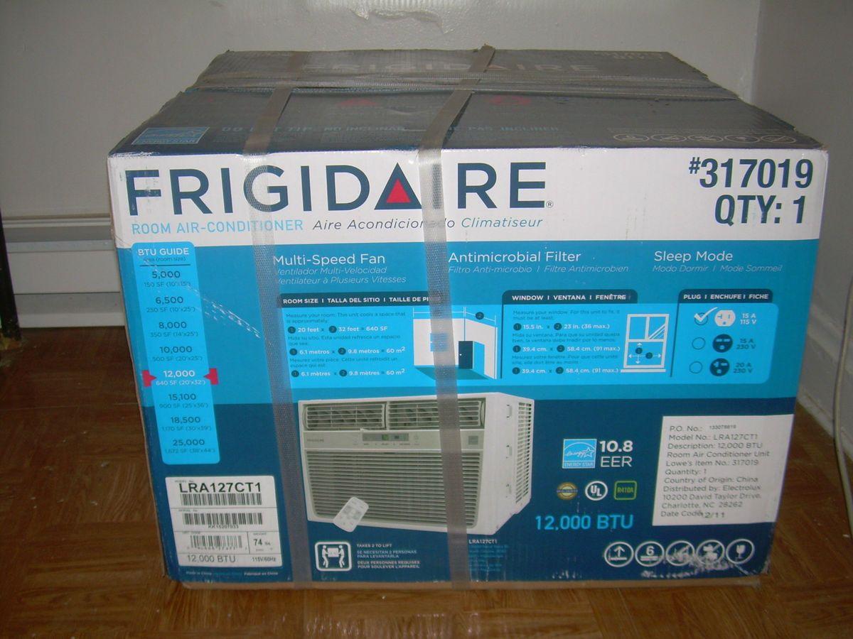 Frigidaire 12000 BTU Window Room Air Conditioner LRA127CT1