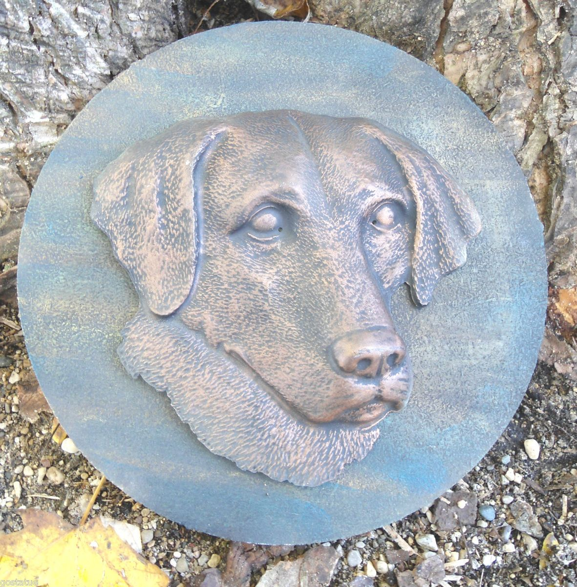 Mold Dog Lab Labrador Decorative Stepping Stone Garden Mold