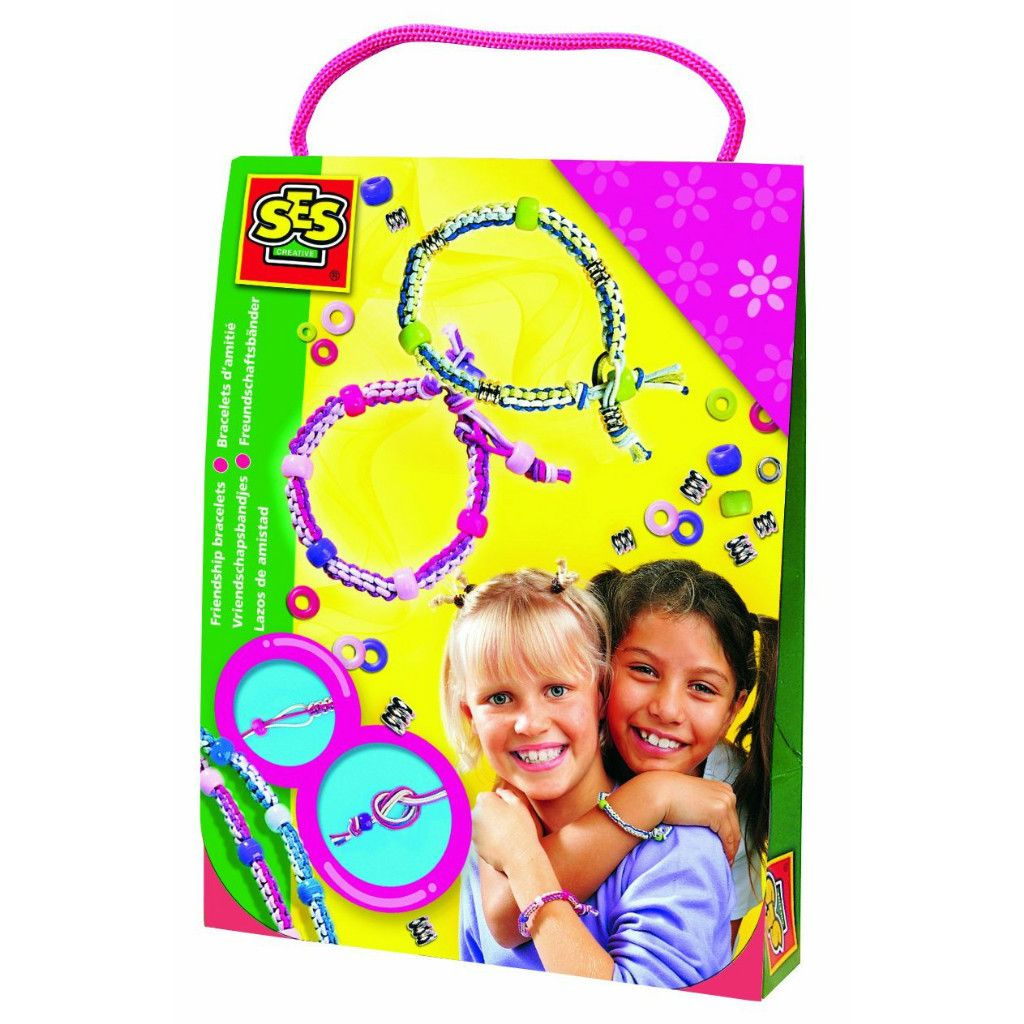 Friendship Bracelet Kit Make Your Own Fashion Bracelets New