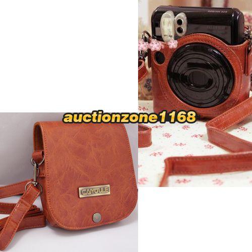 Fuji Instant Instax Mini 7S Polaroid Camera Film Case 074101942521
