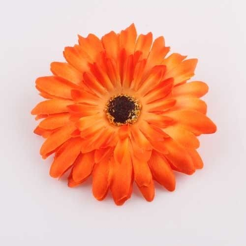 Gerbera Daisy Flower Hair Hat Clip Ponytail Holder