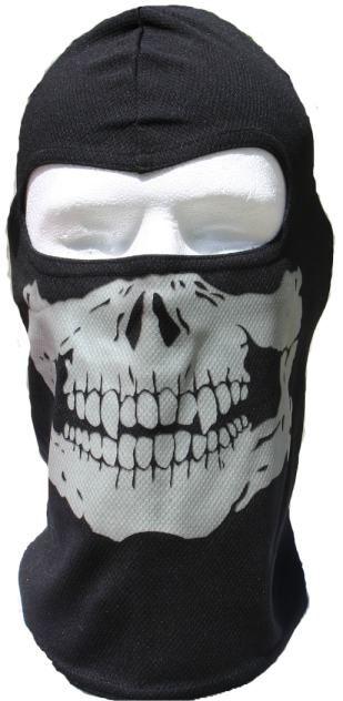 3pk Glow in The Dark Skull Ski Hoods by Windmask Full Motorcycle Face