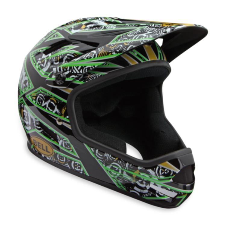Bell Sanction Full Face Downhill Bike Helmet Green M