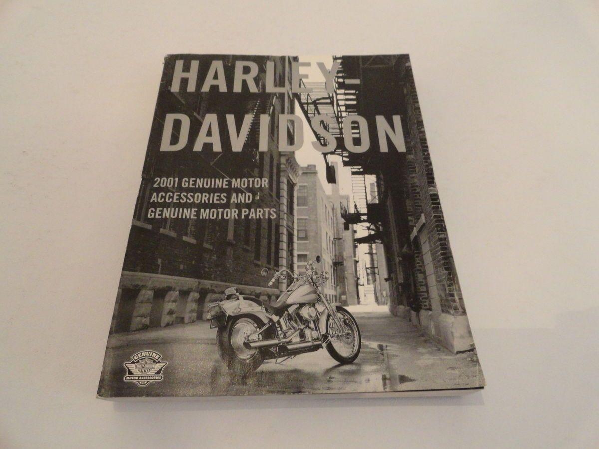 2001 HARLEY DAVIDSON Genuine Parts Accessories Motorcycle Catalog