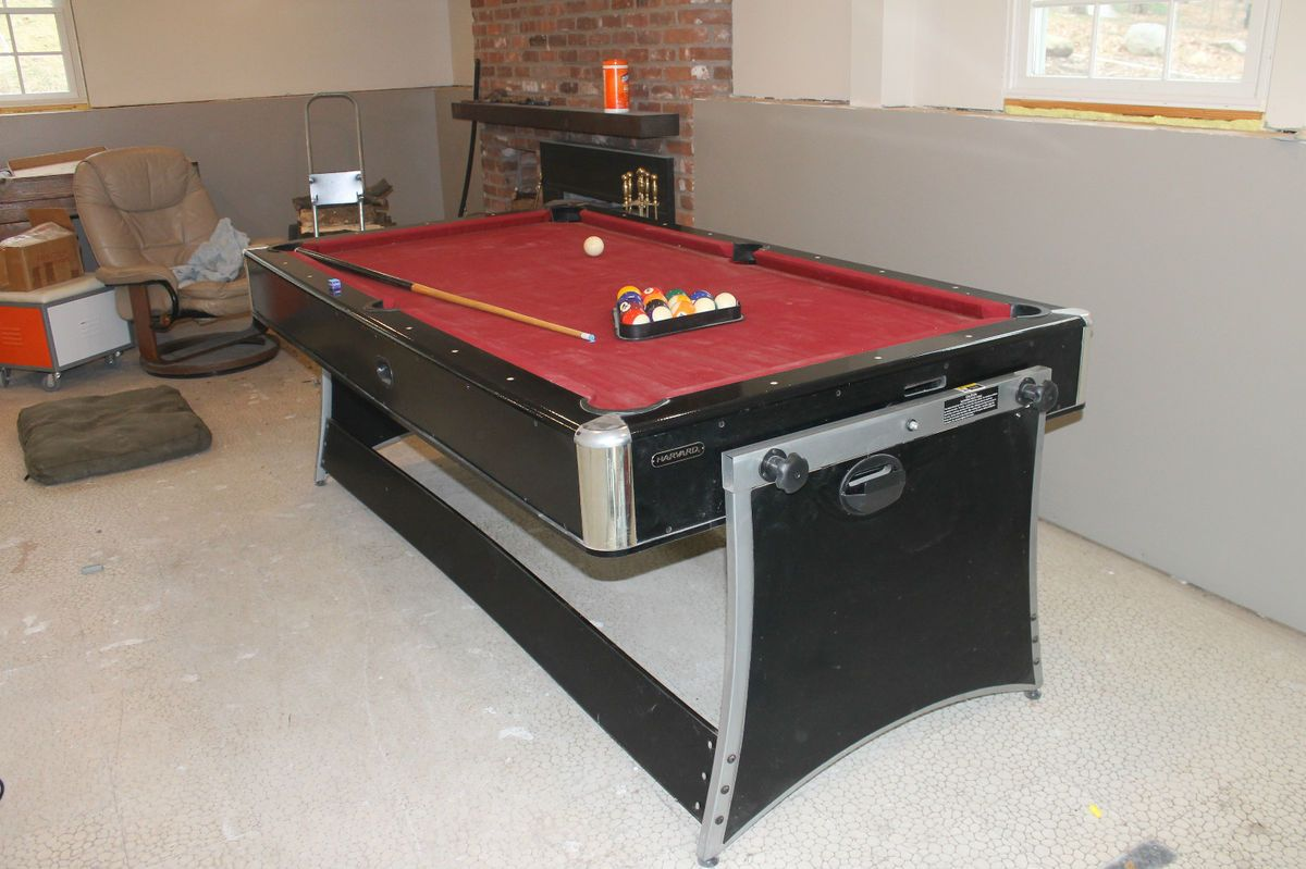 Harvard pool and air hockey table table designs harvard 7ft flip air hockey pool table designs greentooth