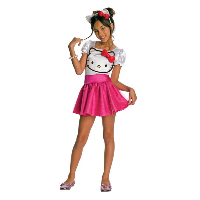New Hello Kitty Dress Hello Kitty Girls Costume All Sizes