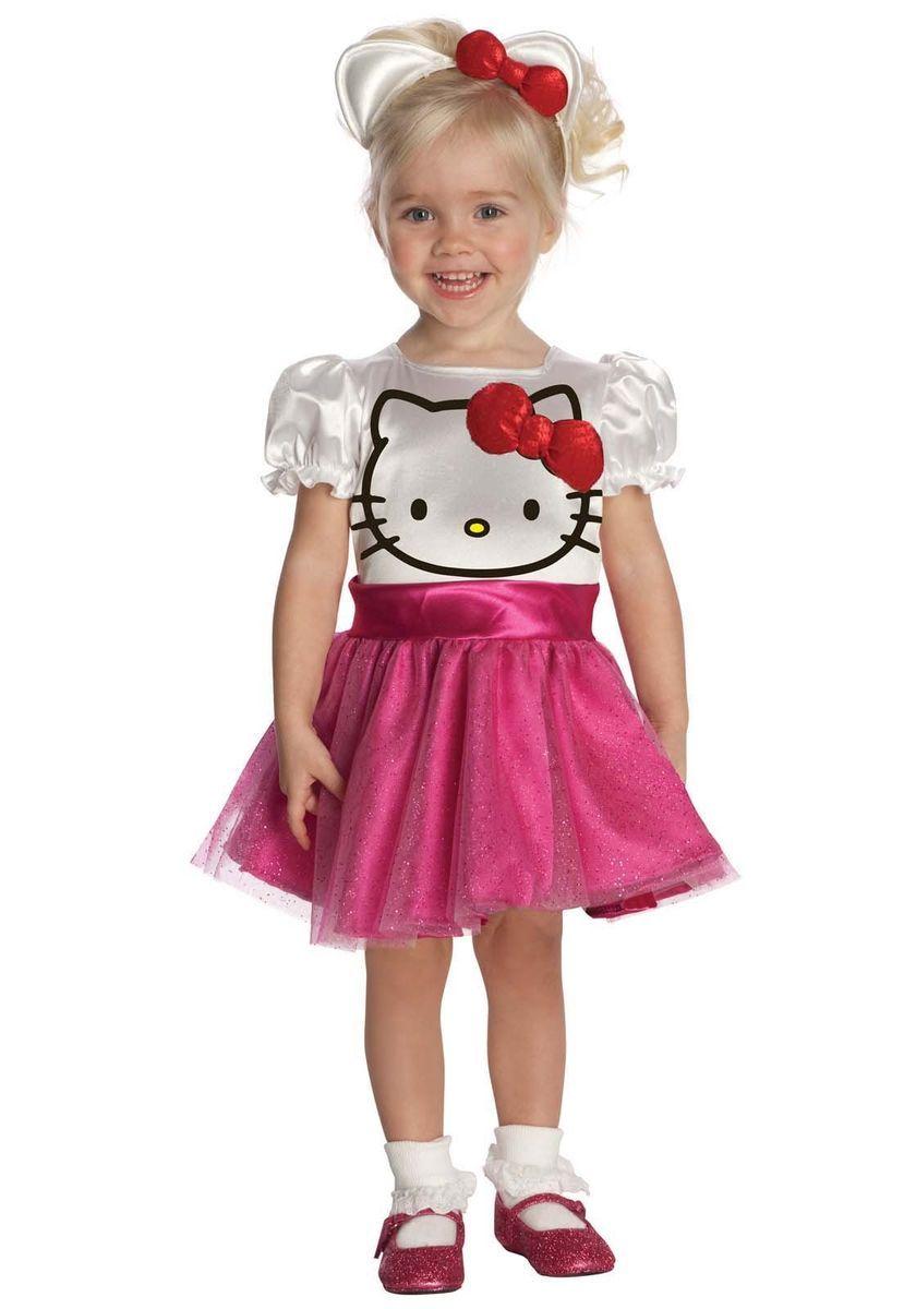 Cute Hello Kitty Tutu Dress Childrens Girl Costume Child Toddler Size