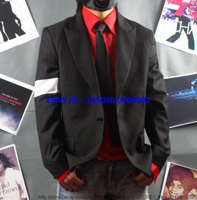 Michael Jackson Black Dangerous Jacket Pro Series
