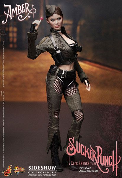 Hot Toys Amber Doll Jamie Chung Sucker Punch 12 Action Figure Statue