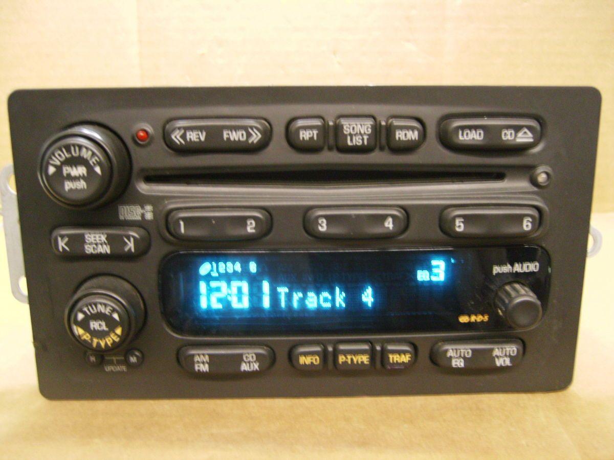 Disc Radio Changer Blazer Jimmy S10 G Van 2001 2002 15074589