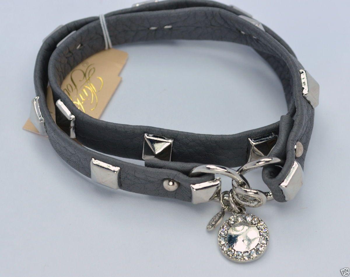 Kirks Folly Leather Wrap Bracelet