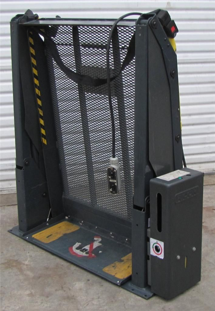 Hydraulic Wheelchair Lifts For Vans : Ricon v hydraulic wheelchair lift s for van truck