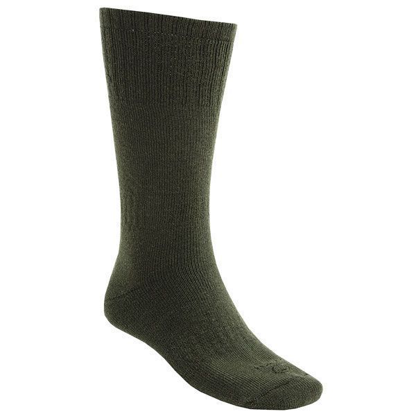 Pair Lorpen 40% Italian Merino Wool Hunting Socks Medium Green 2nds