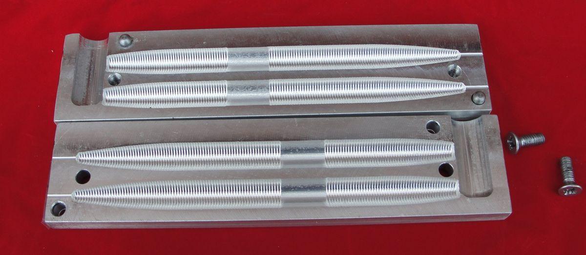 Bass Tackle Soft Plastic Injection Mold 7 Stick Senko Style