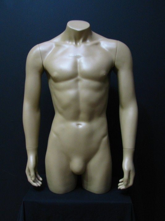 Male Man Full Body Bust Torso Retail Shop Display Mannequin Dummy with