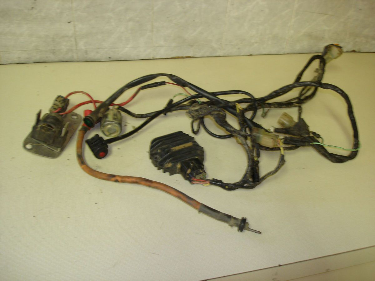 400ex Main Wire Harness Regulator Fuse Box Solenoid 400 Ex Trx400ex Farmall Wiring