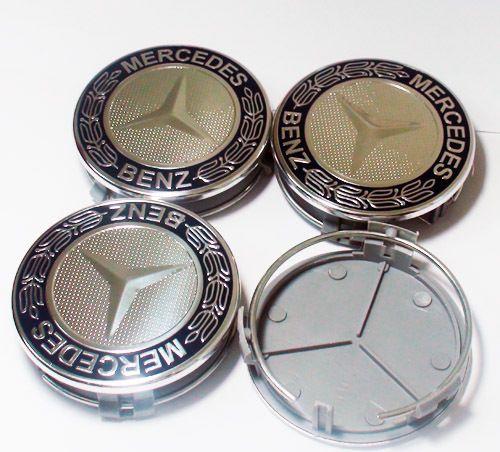 Mercedes Benz AMG Wheel Center Caps Emblem Badge SLK ml B C E s
