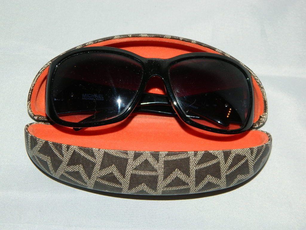 MICHAEL KORS Sunglasses Black M2670S Plastic Frames Logo Clamshell