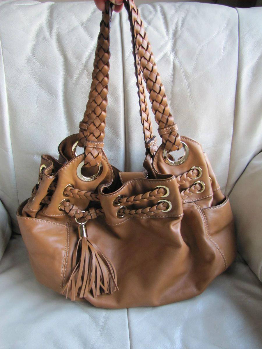 Michael Kors Brown Leather Purse Handbag