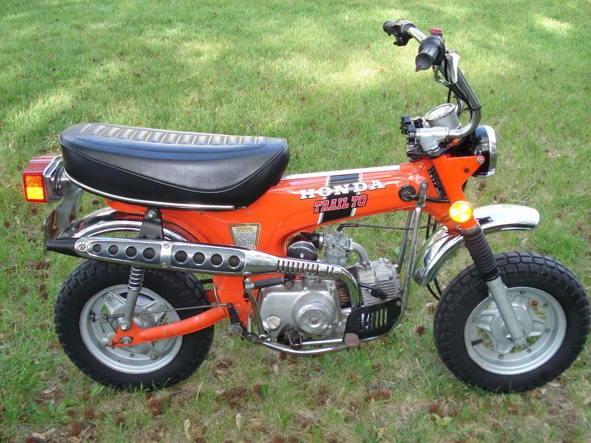 Trail 70 Ct70 Ct Minibike Mini Bike Minicycle Cycle 1970 Honda