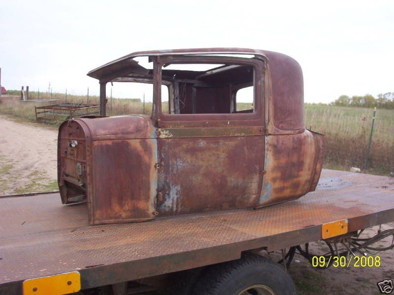 30 Packard 3 w Window Coupe Hot Rat Rod Pickup Cab