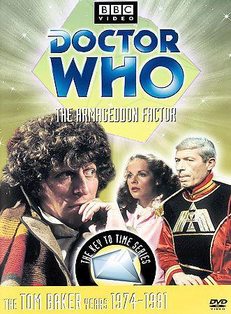 Doctor Who   The Armageddon Factor DVD, 2002