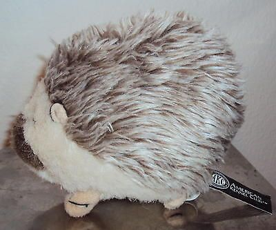Porcupine AKC 6 stuffed plush dog squeak toy American Kennel Club