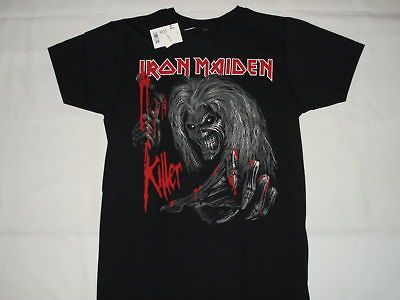 IRON MAIDEN HEAVY METAL ROCK BAND NEW T SHIRT XL BLACK THE KILLERS